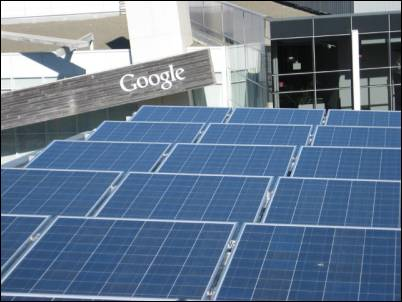 Google and Solar Power in California